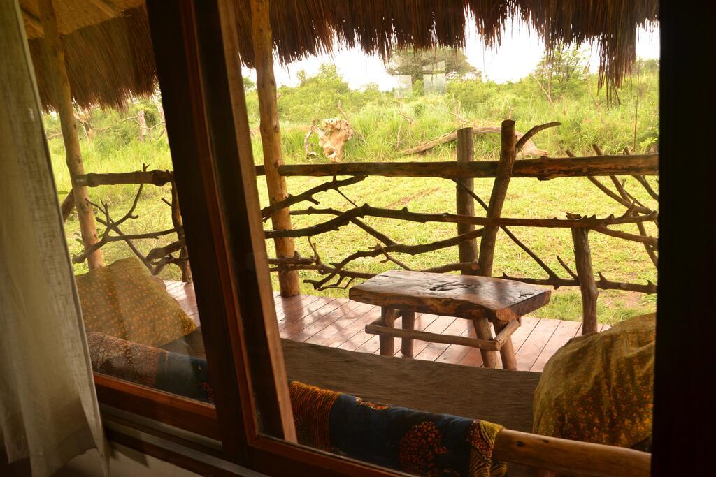 Ishasha Wilderness Camp Topi Lodge room 4